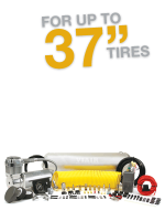 "Constant Duty OBA For up to 37"" Tires"