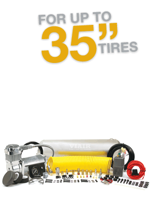 "Heavy Duty OBA For up to 35"" Tires"